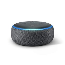 Echo Dot (3rd Gen) – Smart speaker with Alexa – Charcoal