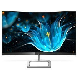 Philips 328E9QJAB 32″ Curved Frameless Monitor, Full HD VA, 128% sRGB, FreeSync, 75Hz, VESA, 4Yr Advance Replacement Warranty
