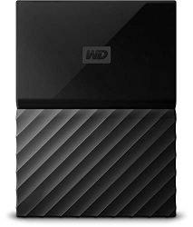WD 4TB Black My Passport Portable External Hard Drive – USB 3.0 – WDBYFT0040BBK-WESN