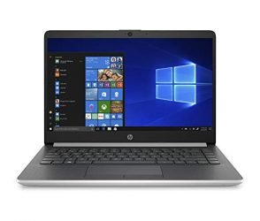 HP 14-Inch Laptop, AMD A9-9425 Processor, 4 GB SDRAM, 128 GB Hard Drive, Windows 10 Home in S Mode (14-dk0010nr, Natural Silver)