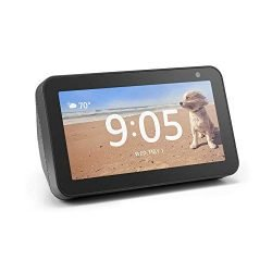 Introducing Echo Show 5 – Compact smart display with Alexa – Charcoal