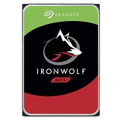 Seagate IronWolf 10TB NAS Internal Hard Drive HDD – 3.5 Inch SATA 6Gb/s 7200 RPM 256MB Cache RAID Network Attached Storage Home Servers – Frustration Free Packaging (ST10000VN0004)