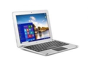 Beantech W11046ADS Laptop (Windows 10 Home, Intel Cherry Trail z8300, 11.6″ LCD Screen, Storage: 64 GB, RAM: 4 GB) Silver
