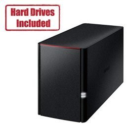 BUFFALO Linkstation 220 8TB Private Cloud Storage NAS with Hard Drives Included