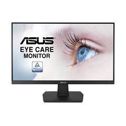 ASUS VA24EHE 23.8″ Monitor 75Hz Full HD (1920×1080) IPS Eye Care HDMI D-Sub DVI-D