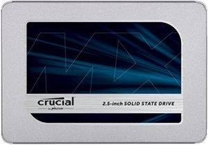 Crucial MX500 2TB 3D NAND SATA 2.5 Inch Internal  SSD – CT2000MX500SSD1(Z)