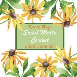 Social Media Content 2020 Calendar