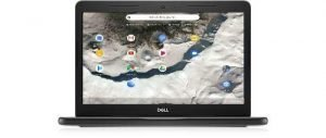 Dell Chromebook 14 3400 Celeron N4000 2.6 GHz 4GB 64GB eMMC AC BT WC 14″ HD Chrome OS