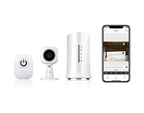 Home8 Video-Verified Garage Door Control Relay System – Remotely Open/Close Your Garage Door from Your Smartphone with Free Basic Service, Featuring Amazon Alexa Integration