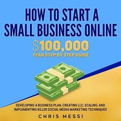 How to Start a Small Business Online: $100,000 a Year Step by Step Guide: Developing a Business Plan, Creating LLC, Scaling, and Implementing Killer Social Media Marketing Techniques