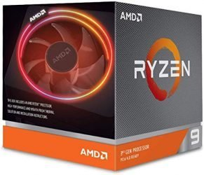 AMD Ryzen 9 3900X 12-core, 24-Thread Unlocked Desktop Processor with Wraith Prism LED Cooler