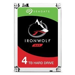 Seagate IronWolf 12TB NAS Internal Hard Drive HDD – 3.5 Inch SATA 6Gb/s 7200 RPM 256MB Cache RAID Home Servers – Newest Model (ST12000VN0008)