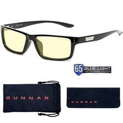 gaming glasses blue light blocking glasses riot onyx by gunnar 65 blue light protection 100 uv light anti reflective to protect reduce eye strain dryness 250x250 - Why Use Computer Glasses?