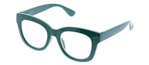 Peepers Women's Center Stage Readers in Emerald, +1.00 – Basic Lenses