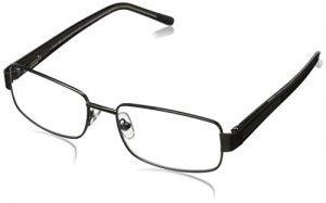 Foster Grant Wes Men's Multifocus Glasses, Gunmetal, 2.75